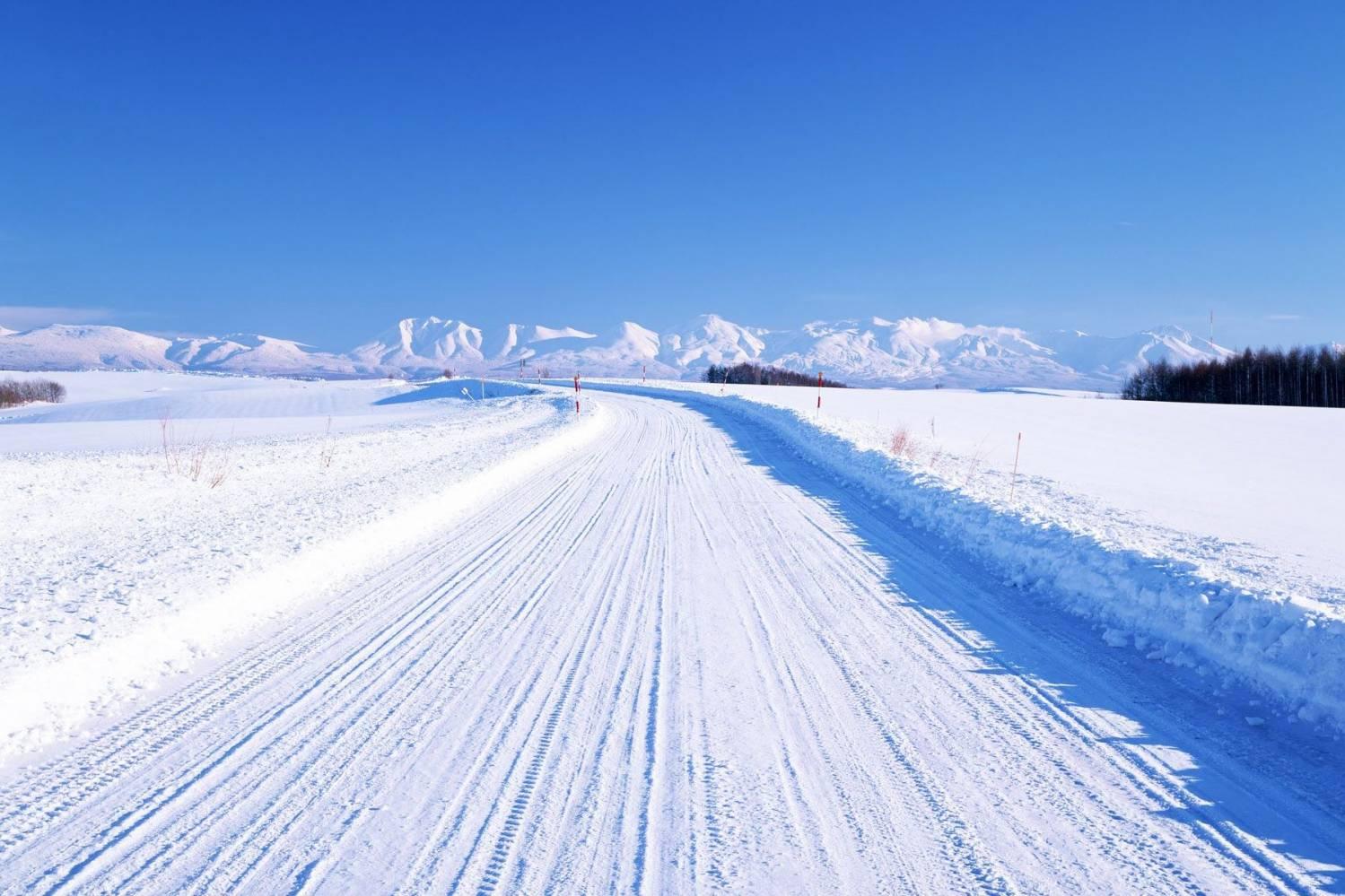 Зимник – снежная артерия газового промысла Норильскгазпрома