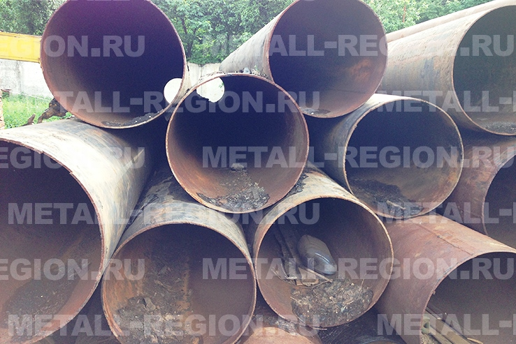 Трубы бу стальные